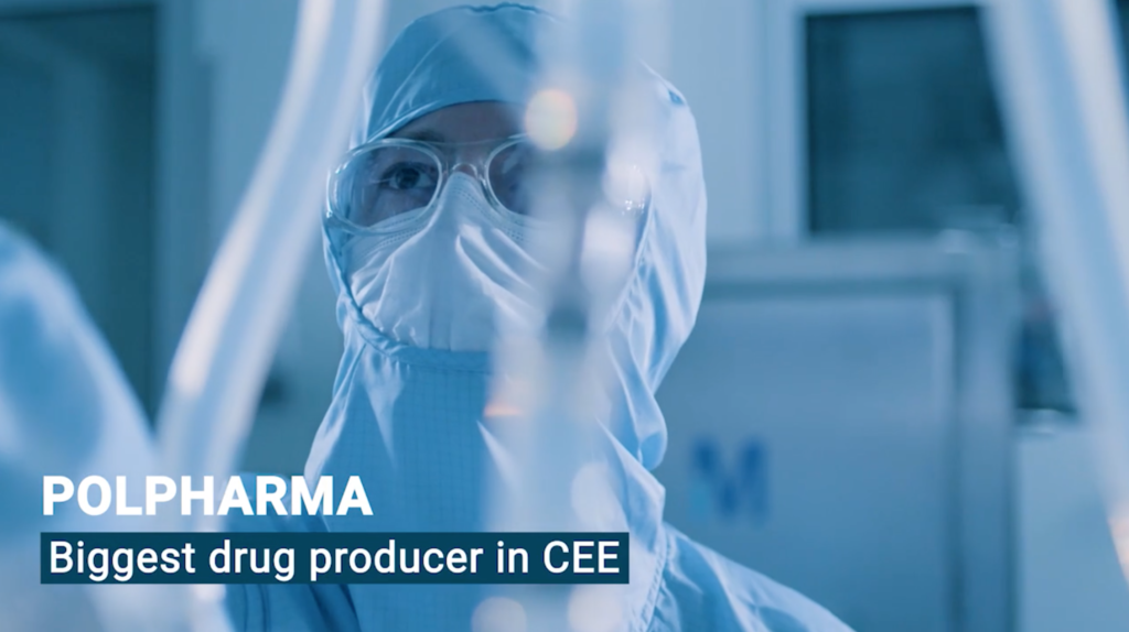 Pomerania-based Polpharma is the market leader in the CEE