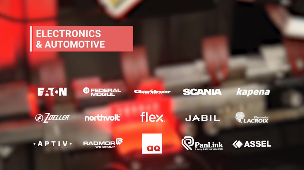 Main investors in the electronics & automotive sector in Pomerania