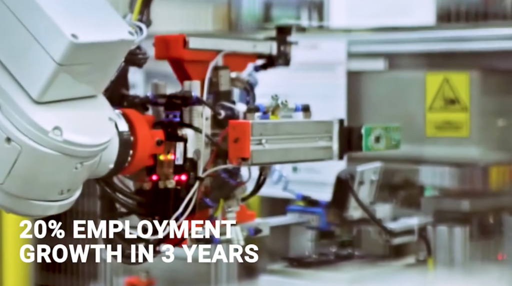 Job creation in the electronics & automotive sector in Pomerania