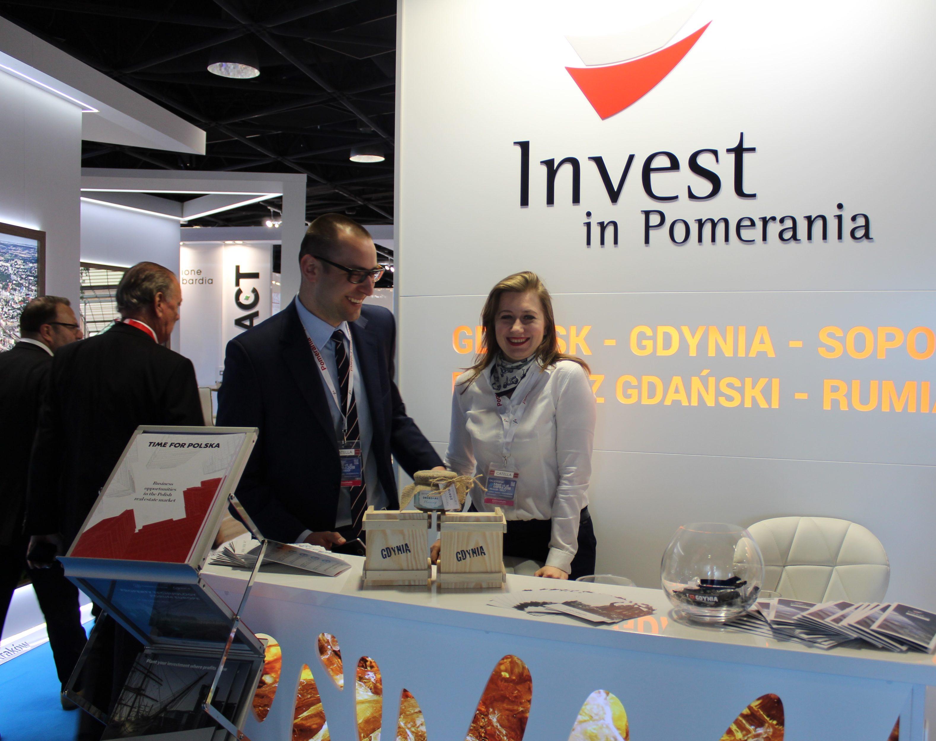 Invest in Pomerania at MIPIM 2018 in Cannes. Fot. materiały prasowe Invset in Pomerania
