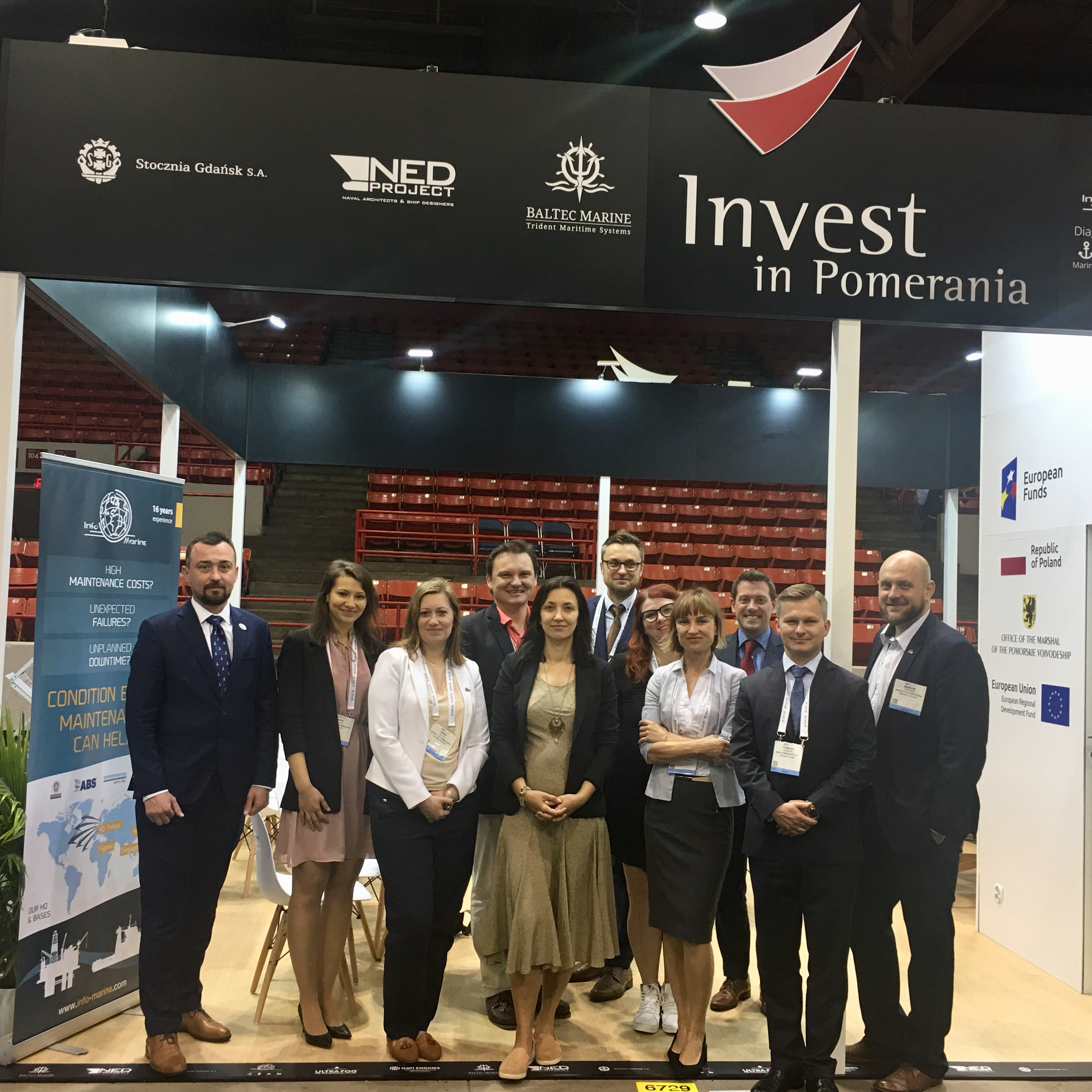 Invest in Pomerania and partners at OTC 2019