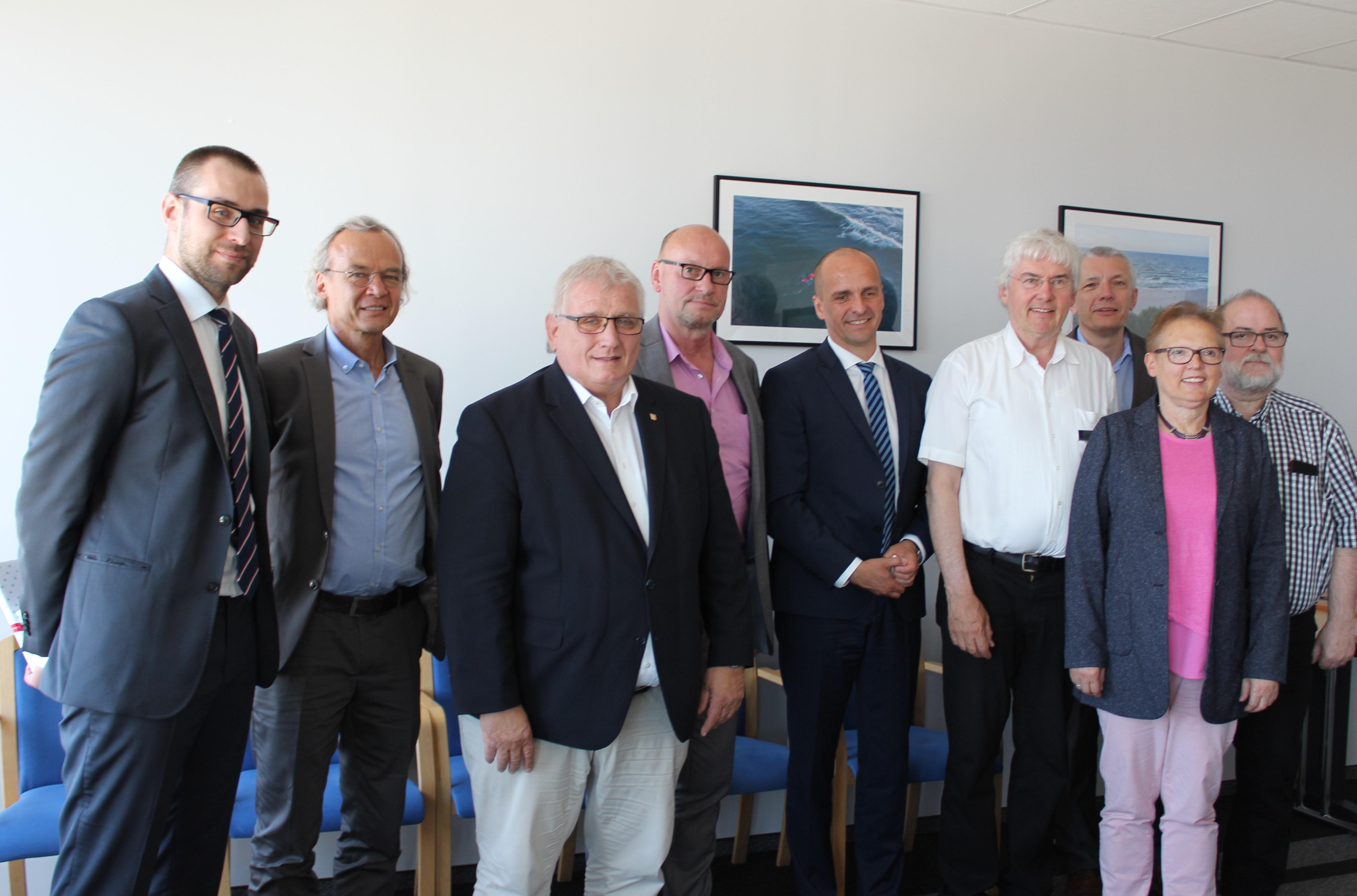 Delegacja ze Szlezwik-Holsztynu z wizytą w Agencji Rozwoju Pomorza S.A.