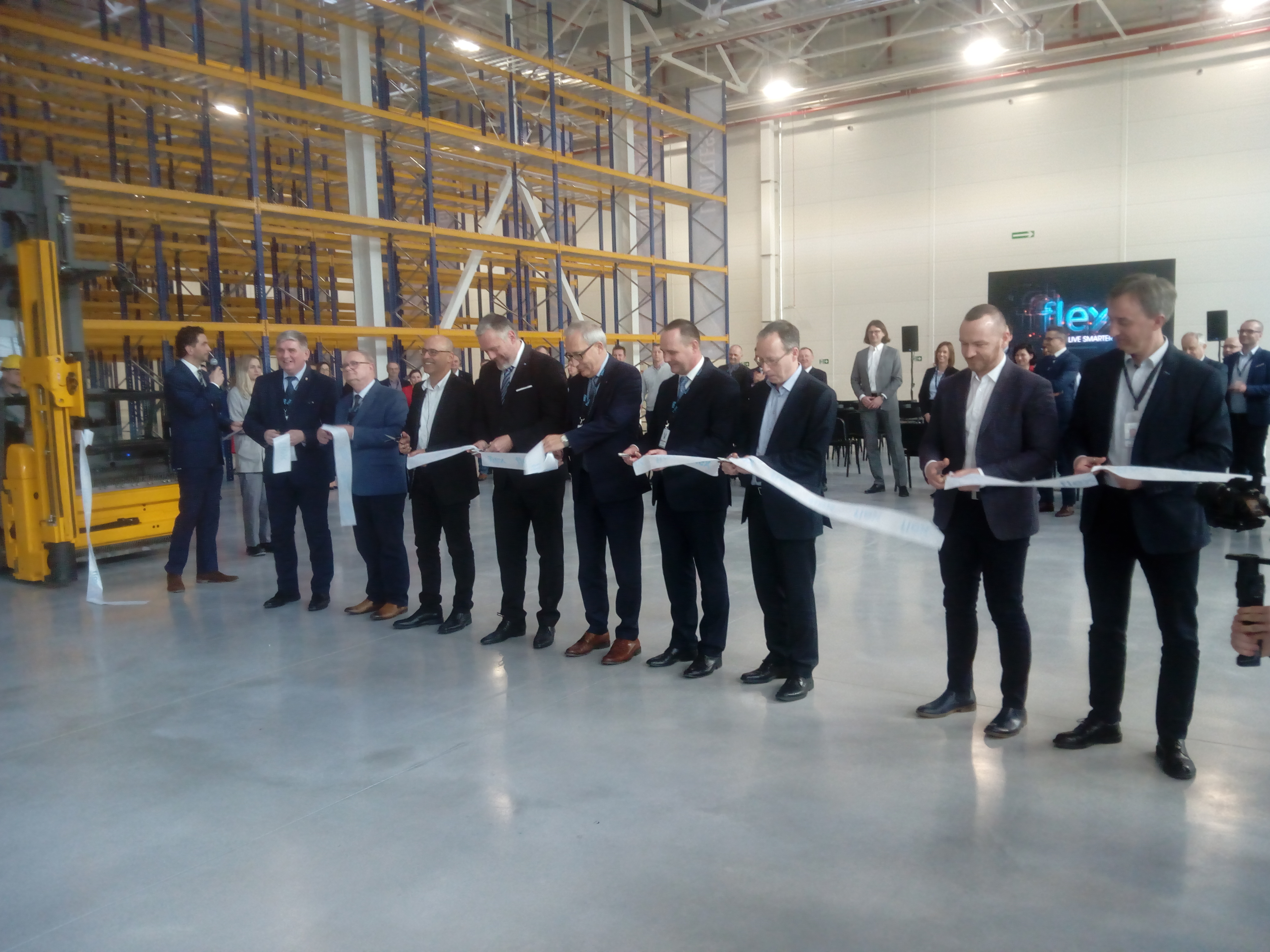 Flex Celebrates Twenty Years in Pomerania Bringing more jobs to Tczew by expanding current facility
