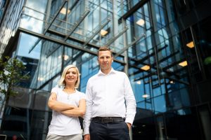 Executive Consultancy Manager – Magdalena Hennig and Vice President Poland - Grzegorz Pyzel