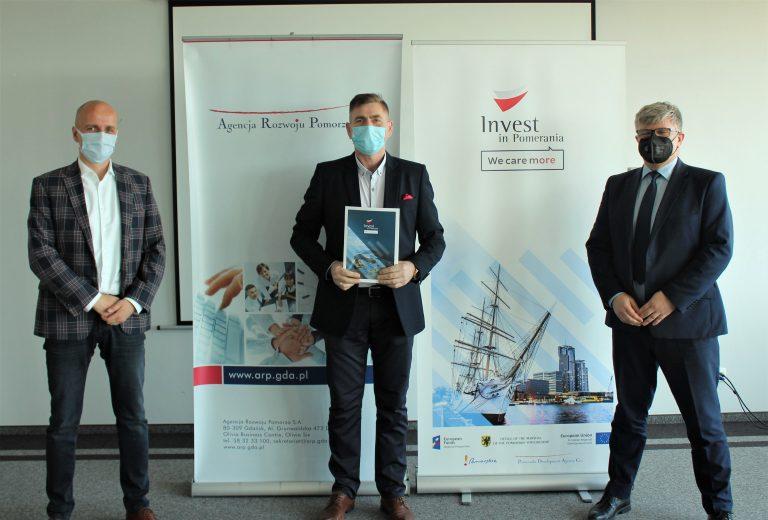 """Zajmująca się lakiernictwem przemysłowym firma GAWIN  otrzymała dofinansowanie z projektu  """"Invest in Pomerania 2020"""""""